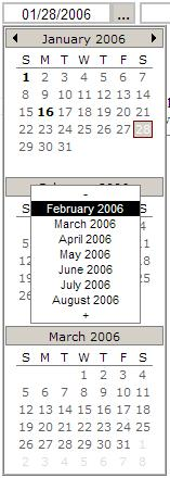 PopCalendarXP Vertical Theme in IE6